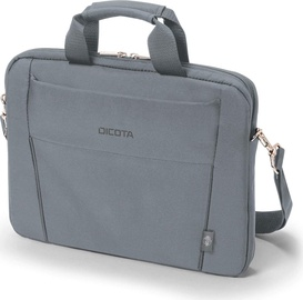 "Klēpjdatoru soma Dicota Slim Eco Base D31305-RPET, pelēka, 13-14.1"""