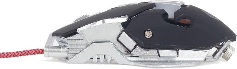 Игровая мышь Gembird MUSG-05 Black/White, проводная, оптическая