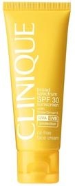 Крем для загара Clinique Sunscreen Oil-Free Face Cream SPF30, 50 мл