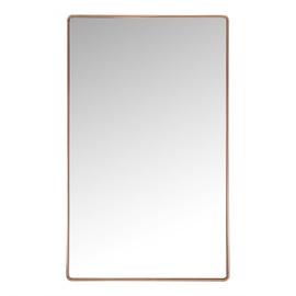 Spogulis Home4you Crystal Copper, stiprināms, 50x80 cm