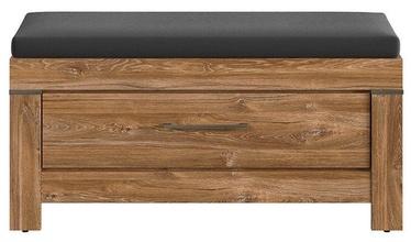 Шкаф для обуви Black Red White Gent Stirling Oak, 1010x400x500 мм