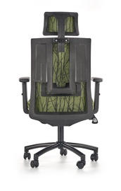 Офисный стул Halmar Tropic Black/Green