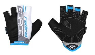 Force Radical Short Gloves Blue/White/Black XL