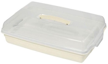 Curver Cake Transporting Box Rectangular 45x29,5x11,1cm Cream