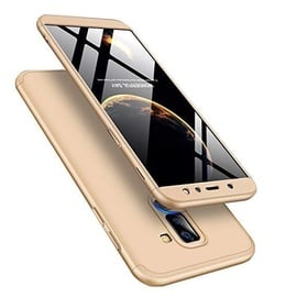 Hurtel 360 Protection Full Body Cover For Samsung Galaxy A6 Plus A605 Gold