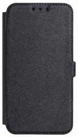 Mocco Shine Book Case For Samsung Galaxy J6 J600 Black