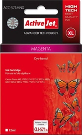 ActiveJet Cartridge ACC-571MNX For Canon 12ml Magenta