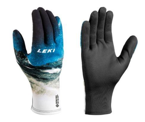 Перчатки Leki Universe GTX Infinium Universe Snow, синий/черный, 10
