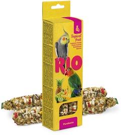 Mealberry Rio Sticks For Parakeets Tropical Fruit 2x75g