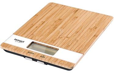 Электронные кухонные весы Lamart LT7024, коричневый