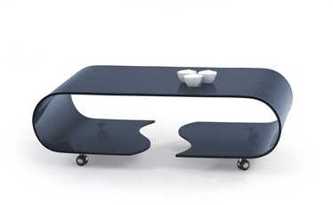 Kafijas galdiņš Halmar Penelope Graphite, 1200x650x390 mm