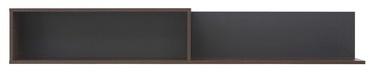 Black Red White Alhambra Shelf 162.5x25.5x22cm Left