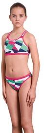 Peldkostīms Aquafeel Girl Swim Suit 25526 01 Pink/Blue 140