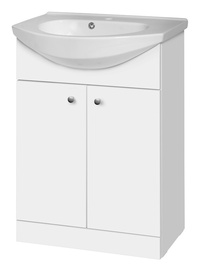 Riva Cabinet With Sink SA60D White