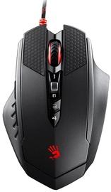 Spēļu pele A4Tech RT7 Black, bezvadu, optiskā