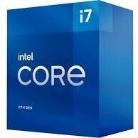 Процессор Intel® Core™ i7-11700 Processor 2.50GHz 16 MB BOX, 2.5ГГц, LGA 1200, 16МБ
