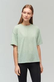 Audimas Light Dri Release T-Shirt Frosty Green L