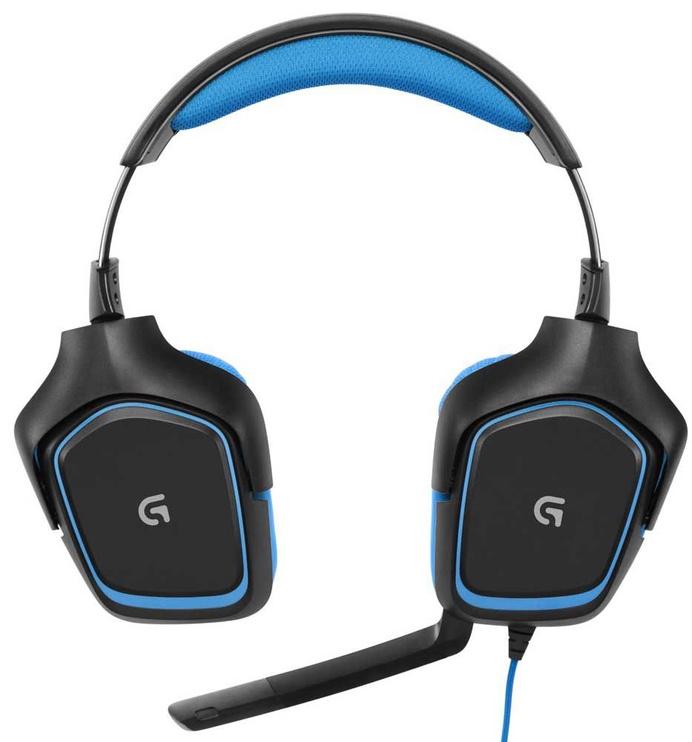Игровые наушники Logitech G430 Black/Blue