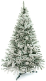 AmeliaHome Lena Christmas Tree Green With Snow 120cm