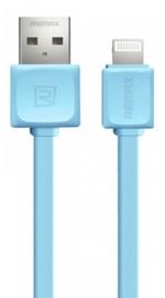 Remax Super Flat Apple Lightning Cable Blue 1m