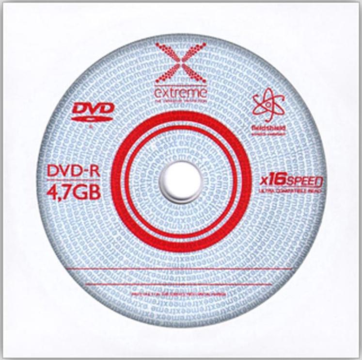 Esperanza 1169 Extreme DVD-R 16x 4.7GB Envelope 500pcs