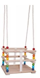 Деревянные качели WOODY 10315, многоцветный