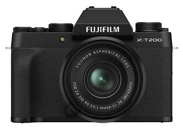 Sistēmas fotoaparāts Fujifilm X-T200 + Fujinon XC 15-45mm F3.5-5.6 OIS PZ Lens Black