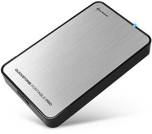 Sharkoon QuickStore Portable Pro USB 3.0 Silver