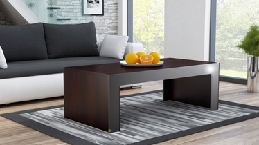 Kafijas galdiņš Pro Meble Milano Wenge/Grey, 1200x600x500 mm