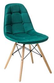 Ēdamistabas krēsls Signal Meble Axel III Green, 1 gab.