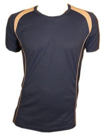 Bars Mens Football Shirt Blue 189 XXL