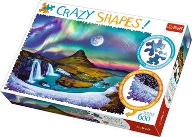 Puzle Trefl Crazy Shapes Aurora Over Iceland 11114T, 600 gab.