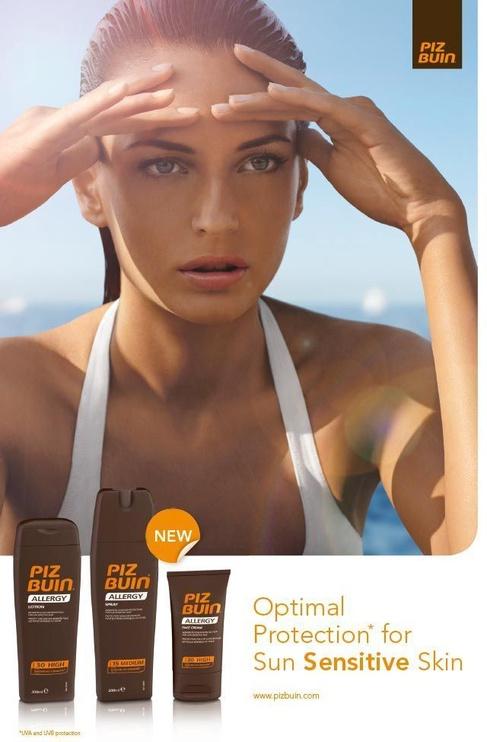 Крем для загара Piz Buin Allergy Sun Sensitive Skin Face Cream SPF50+, 50 мл
