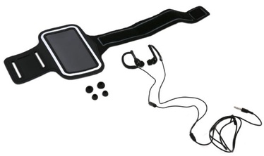 Austiņas Platinet In-Ear Sport Black