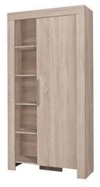 Гардероб Jurek Meble Cezar Reg 4 Sonoma Oak, 100x42x201 см