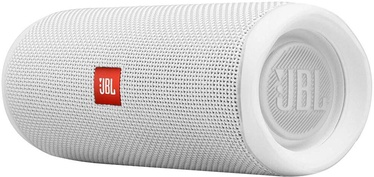 Bezvadu skaļrunis JBL Flip 5 White, 20 W