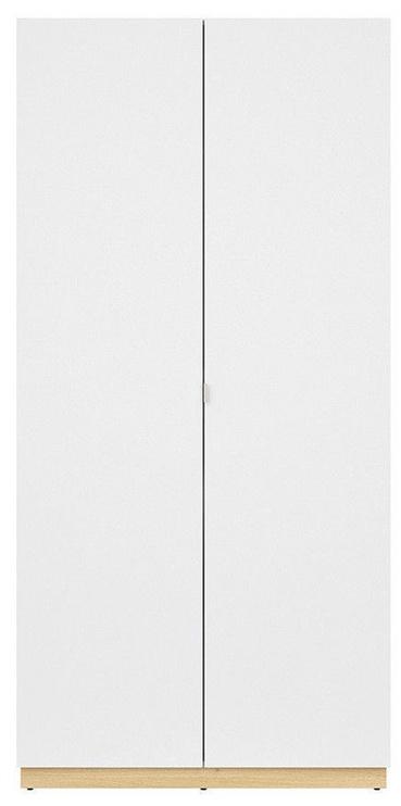 Skapis Black Red White Princeton White/Gray, 100x56x206.5 cm