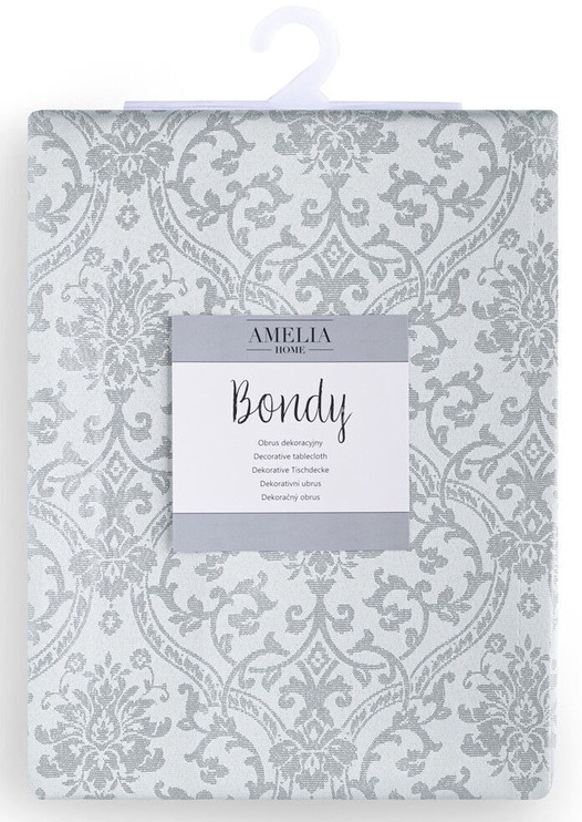 Galdauts AmeliaHome Bondy, pelēka, 2000 mm x 1400 mm