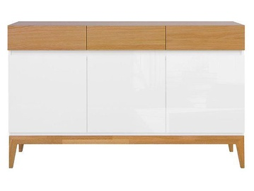 Kumode Black Red White Kioto 40x140.5x88.5cm White Oak