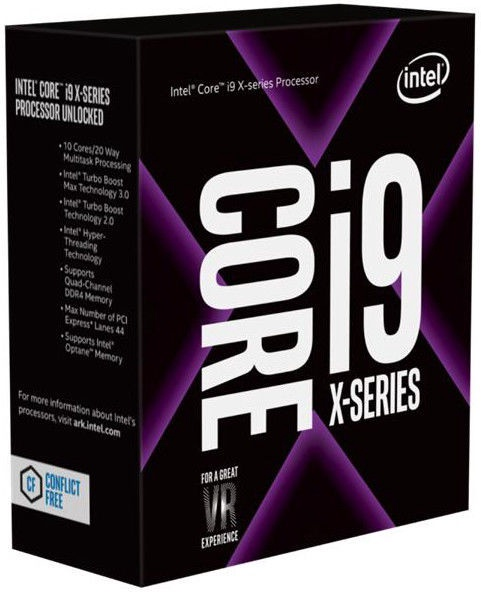 Intel® Core™ i9-9820X X-series 3.3GHz 16.5MB BOX BX80673I99820XSREZ8