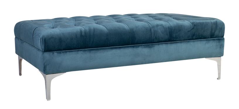 Pufs Home4you Mayers Sea Blue, 141x65x40 cm