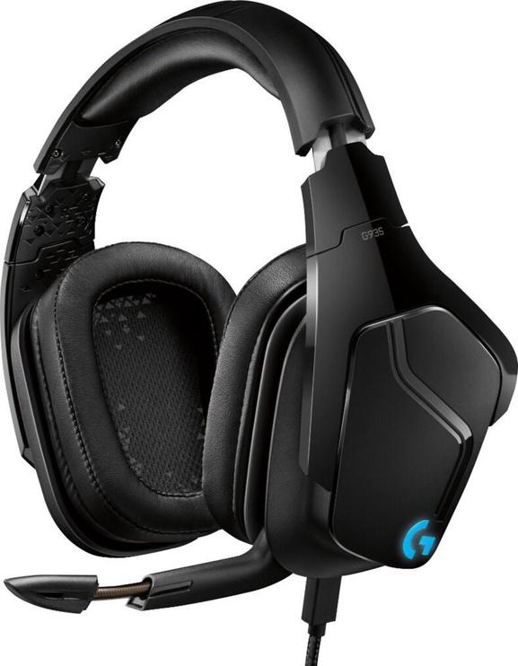 Наушники Logitech G93 Black, беспроводные