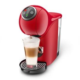 Kapsulas kafijas automāts Krups Genio S Plus KP340531, melna/sarkana
