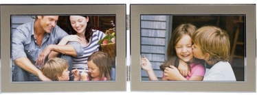 Poldom Photo Frame Double 15x10cm Gold