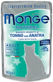 Monge Natural Tuna With Duck Adult 80g