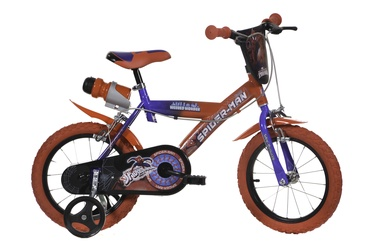 "Bērnu velosipēds Dino Bikes 163G-SA, zila/sarkana, 10.5"", 16"""