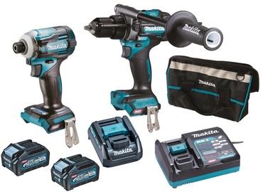 Akumulatora skrūvgriezējs - urbis Makita DK0114G201
