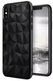 Blun 3D Prism Shape Back Case For Xiaomi Redmi Note 7/Note 7 Pro Black