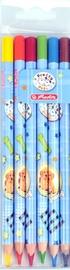 Herlitz Triangular Coloured Pencils 6-Pieces Pretty Pets 11366317