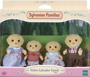 Rotaļlietu figūriņa Epoch Sylvanian Families Yellow Labrador Family 5182